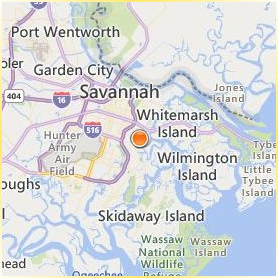 Savannah State University Location Map